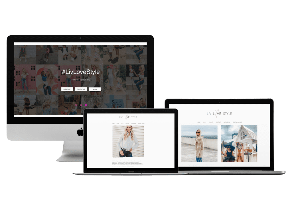 #LivLoveStyle Website Migration by Creative Allies