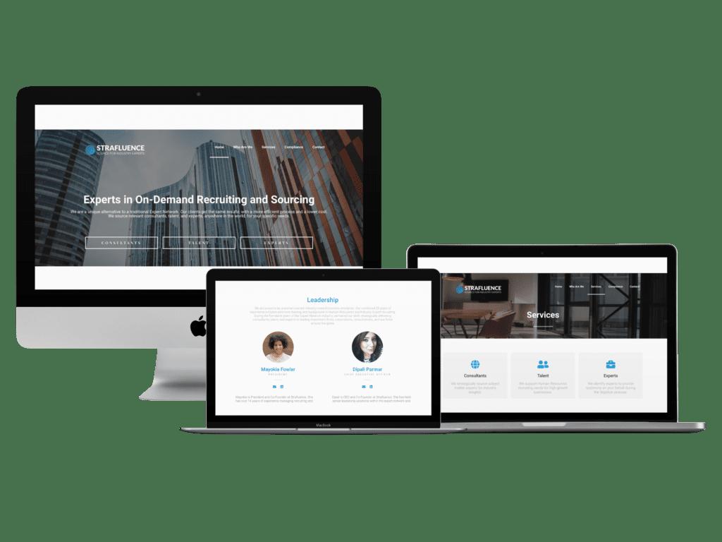 Strafluence Website Refresh Designed By Creative Allies