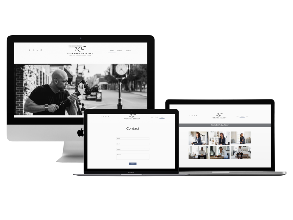 rich font creative, simple websites, creative allies