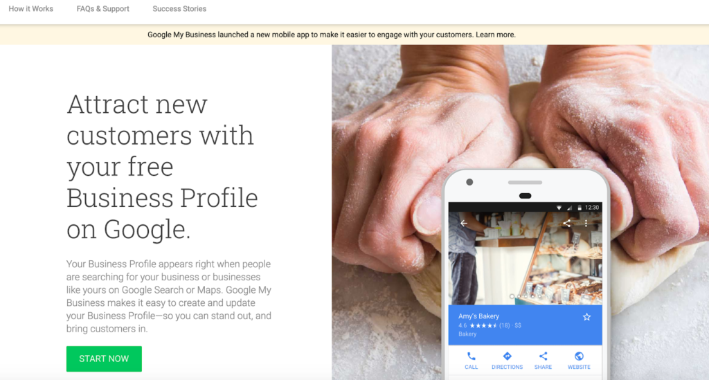 Business Profile on Google
