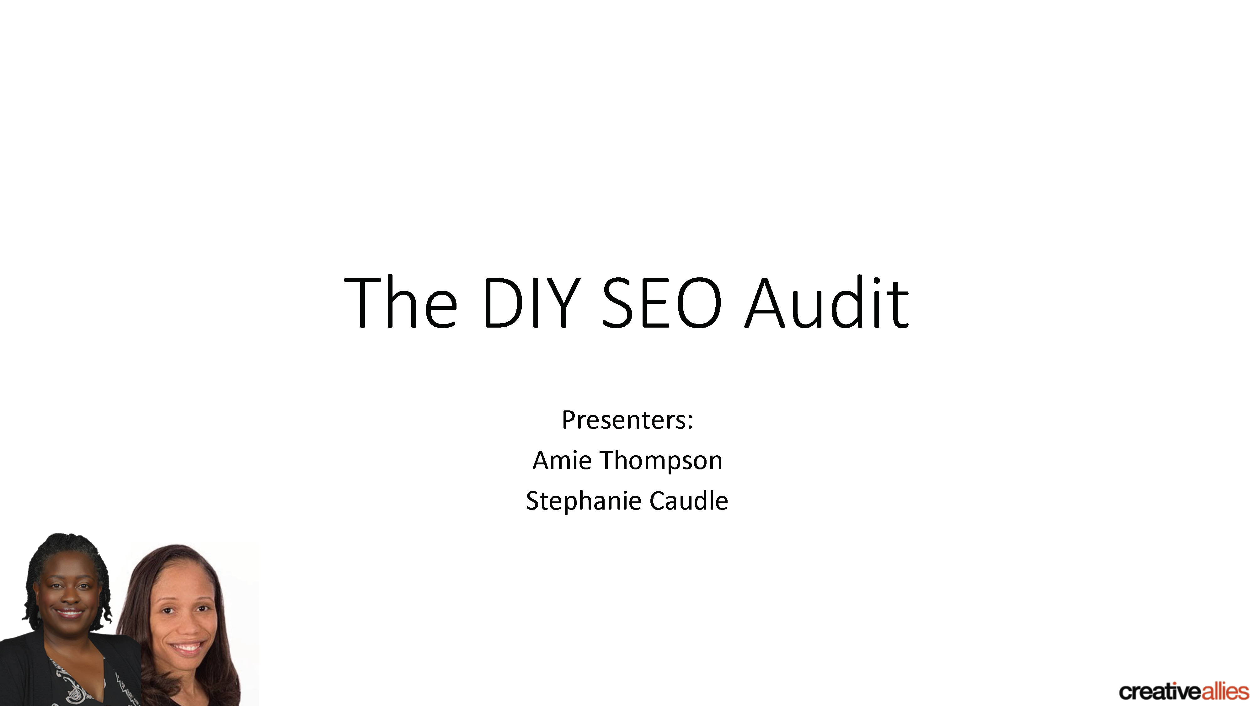 Do It Yourself SEO Audit