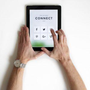 connecting through webinars