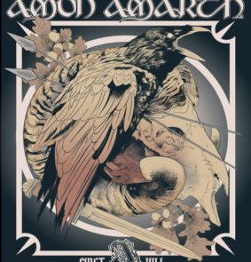 Artwork by James F. for the Amon Amarth Case Study by Creative Allies